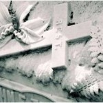 how to clean a marble grave marker
